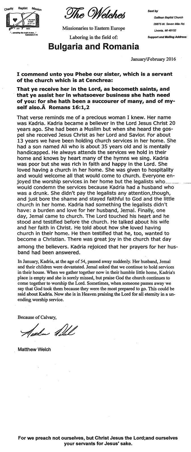 Welch_2-16_Prayer_Letter
